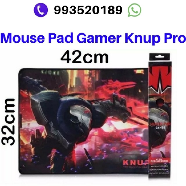 Foto 3 - Kit gamer knup mouse 7-teclado e mouse pad